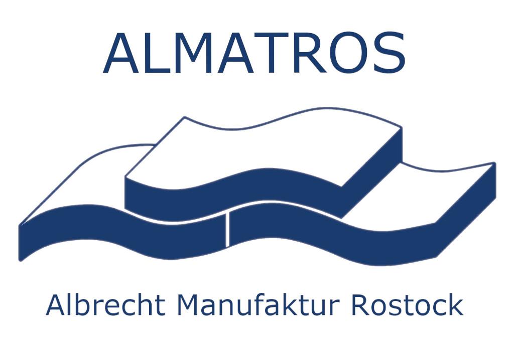 logo almatros matratzen rostock